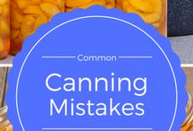 Canning mistakes