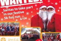 Santa 5K or 10K Run