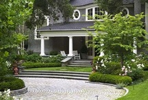 Driveway + Front entry landscape / by Mel Robbins