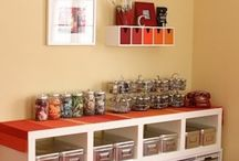 Craft Room Ideas / by Kellie Yeates