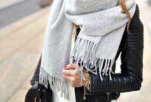 scarfs + jackets