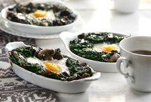 Αυγα με μανιτάρια