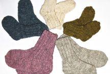 Knitwear and hand crafts / Organic handmade knitwear in eco cotton yarn.