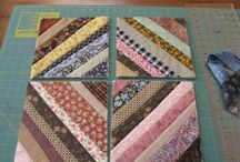 Quilt-As-You-Go / Quilt-as-you-go (QAYG) tutorials, blocks, instructions, projects, and inspiration