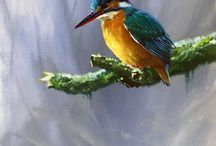 vogels schilderijen