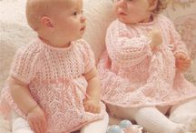 babies knitting crochet