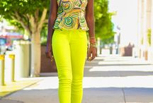 fashion with colour