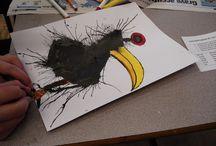 art class / drawing