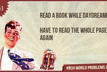 richworldproblems / by Beth Sandlin