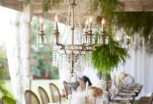Styled shoot flowers