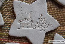Décorations de Noël / Christmas decorations / Décorations inspirantes  Inspiring Christmas decorations