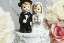 Vintage Style Cake Toppers