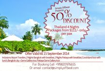 Thailand Monsoon Special Offer / 50% discount on tour packages - Bangkok & Pattaya