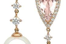 diamond pearl earrings