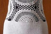 Szydełkowe Sukienki