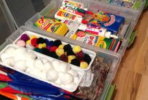Kid crafts and games / by Becky Engle