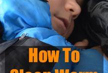 como dormir caliente en frio