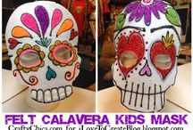 dia de los muertos crafts/activities