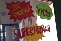 Superheroes - classroom