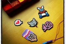 HAMA BEADS / Creaciones hechas con hama beads.