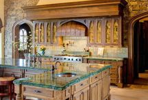 Italian & French style kitchen