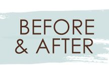Before & After / Take a look at these great before and after looks from Spalon Montage!