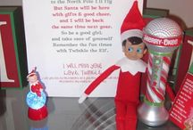 Elf On The Shelf!!! (Selfa the Elf) / by Lea Naccarato