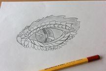 Tekeningen / Foto's van mijn tekeningen