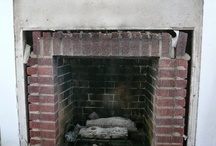 Baublits fireplace / A journey from horrible to happy with a beach house fireplace.