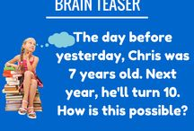 Brain Teasers / schoolessons.com: Get your brain some exercise