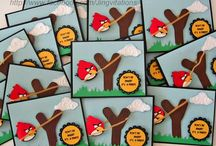 Angry birds themed party ideas
