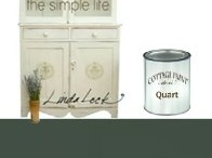 Cottage Paint / A clay-based furniture paint with the look of clay.  Over 24 unique colors to choose from.  Recycle, reuse, reinvent!