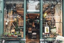exteriors: shopfronts