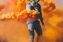 smoke granade