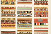 egyptian tile designs