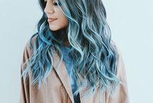 color włosów