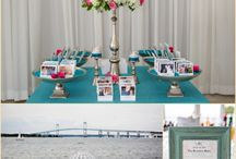 Table Inspiration / Inspiration for table settings at Weddings and other special events!