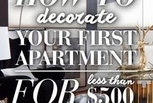 Your First Place / Moving out. How to decorate, budgeting 101, everything involved in your first place.