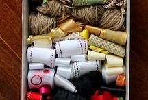 Organizando os Enfeites de Natal