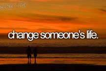 Think it. Live it. (creo que vivirla)