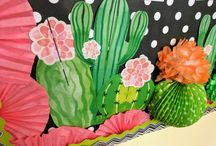 cactus classroom ideas / Classroom ideas for today's teachers. Keep learning exciting and fun with trendy ideas that will help keep those classroom walls colorful and fun! Classroom makeover ideas from Simply Sprout