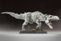 Jurassic Word & Dinosaur Lego and Minifigures / Jurassic World/ Jurassic Park, as well some really awesome dinosaur Lego art and sets.