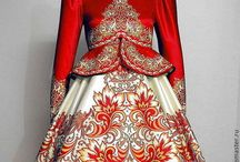 русский костюм танц