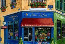Çiçekçi dükkanları