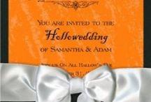 Halloween wedding / Ideas for a Halloween wedding