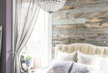 stěna dřevo