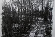 Stooshinoff landscape drawings