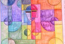 Coloridos da Lílian / Pinturas dos meus livros de colorir / by Lilian Alves