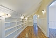 Attic turns to closet / by Jessica Hill
