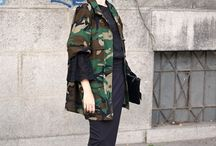 Camo printed jacket / Timeless item, camouflage printed jacket stands the test of time and makes any combination looks more edgier and interesting. #camojacket #streetstyle #camouflage